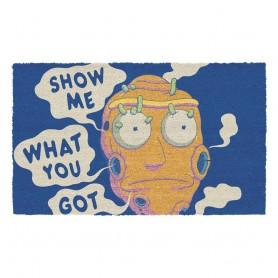 Rick & Morty paillasson Show Me What You Got 40 x 60 cm
