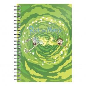 Rick & Morty cahier Logo Portal