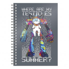Rick & Morty cahier Where Are My Testicles