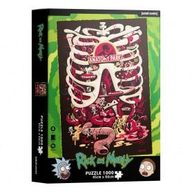 DC Comics Puzzle Anatomy Park (1000 pièces )