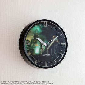 Final Fantasy VII Remake horloge murale avec fonction alarme Cloud Model