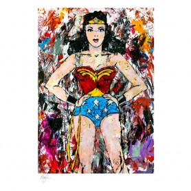 DC Comics impression Art Print Golden Age Wonder Woman 46 x 61 cm - non encadrée