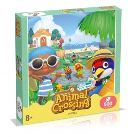 Animal Crossing New Horizons Puzzle Characters (500 pièces)