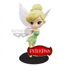 Disney Q Posket Clochette / Tinker Bell Leaf Dress Ver B 14cm