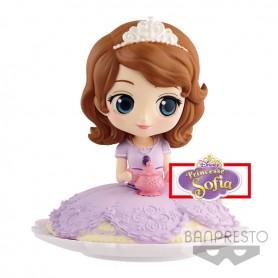 Disney - Q Posket - Sugirly Princess Sofia - Milky Color - 9CM