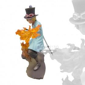 One Piece Stampede Movie Posing Figure Vol 1 Sabo 15cm