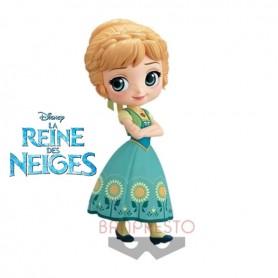 Disney Q Posket Anna Suprise Coordinate Color B 14cm