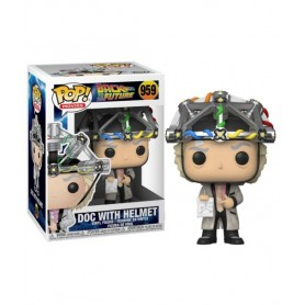 Movies - Back To Back To The Future - Pop N° 959 - Doc With Helmet -