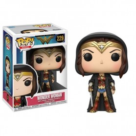 Dc Comics Pop HEROES - Wonder Woman - Cape Wonder Woman Exclusive Pop - 10CM