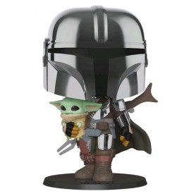 Star Wars The Mandalorian Funko POP ! 380 The Mandalorian and the Child