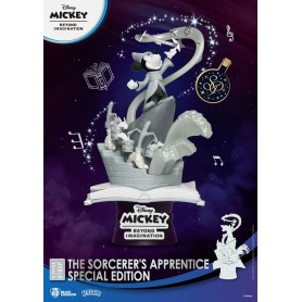 Mickey Beyond Imagination diorama PVC D-Stage The Sorcerer's Apprentice Special Edition 15 cm