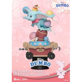 Disney diorama PVC D-Stage Dumbo Cherry Blossom Version 15 cm