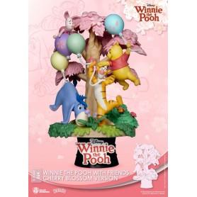 Disney diorama PVC D-Stage Winnie the Pooh Cherry Blossom Version 15 cm