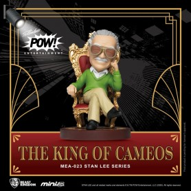 Stan Lee figurine Mini Egg Attack Stan Lee The King of Cameos 8 cm