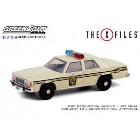 X-Files 1983 Ford LTD Crown Victoria Lardis MD Police 1/64 métal
