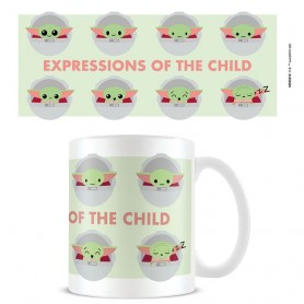 Star Wars The Mandalorian mug Expressions Of The Child