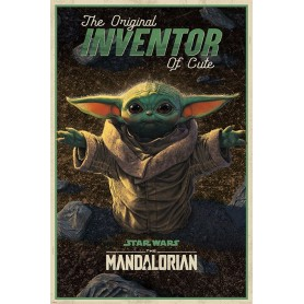 Star Wars The Mandalorian posters The Original Inventor of Cute 61 x 91 cm (5)