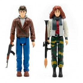 L'Aube rouge pack 2 figurines ReAction Pack A (Erica & Jed) 10 cm