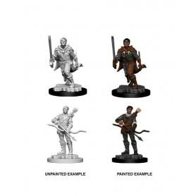 D&D Nolzur's Marvelous Miniatures assortiment packs miniatures à peindre Male Human Ranger (6)