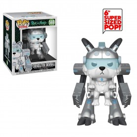 RICK & MORTY POP ANIMATION -  SNOWBALL IN EXOSKELET.OVERSIZED - POP N° 569 -