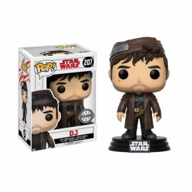 Star Wars Les Derniers Jedi POP - Dj Exclusivité Pop N°207 - 10CM