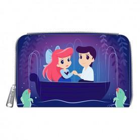 Disney Loungefly La Petite Sirène - Portefeuille The Little Mermaid Gondola Scene - 15x09CM