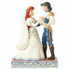 Disney Traditions  Marriage Bliss (ariel & Prince Eric Figurine)- Enesco