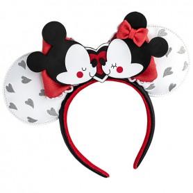 Disney Loungefly DISNEY - Serre-Tete Mickey & Minnie Mouse Love -