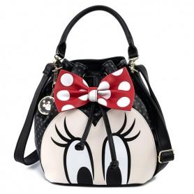 Disney Loungefly - Sac À Main Minnie Mouse Bow - 30x28x13CM