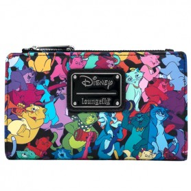 Disney Loungefly - Portefeuille Aristochats Jazzy Cats - 16x10CM
