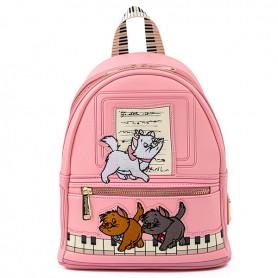 Disney Loungefly - Mini Sac A Dos Aristochats Piano Kitties - 23x26x11CM
