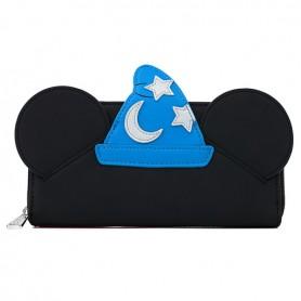 Disney Loungefly - Portefeuille Fantasia Mickey Sorcier -  20x10CM