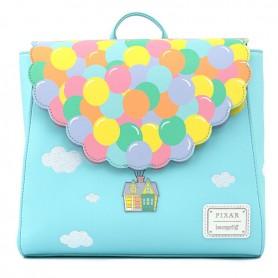 Disney Loungefly - Mini Sac A Dos La Haut Up Balloon House - 28x24x10CM