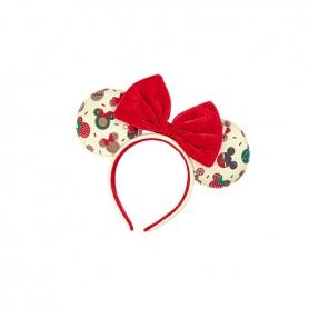 Disney Loungefly - Serre Tete Mickey & Minnie Xmas Cookies