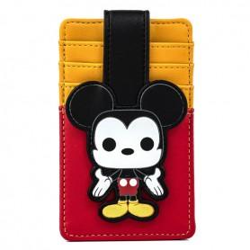 Disney Loungefly - Porte Carte Mickey Pop - 08x13CM