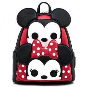 Disney Loungefly - Mini Sac A Dos Mickey & Minnie Pop - 38x38x08CM