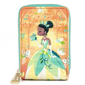 Disney Loungefly - Portefeuille Princess & The Frog - 07x11x03CM