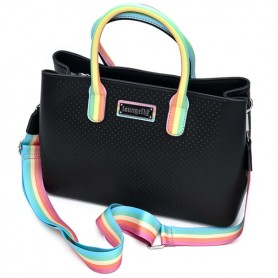 Loungefly Pride - Sac Bandouliere Pin Trader - 28x25CM
