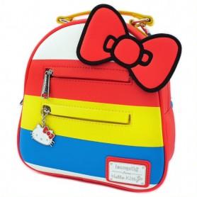Hello Kitty Loungefly - Mini Sac A Dos Stripes Hello Kitty - 23x26x11CM