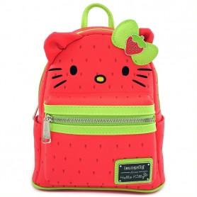Hello Kitty Loungefly - Mini Sac A Dos Strawberry Kitty -  23x26x11CM
