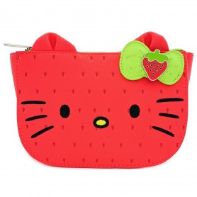 Hello Kitty Loungefly - Pochette Strawberry Kitty - 20x14x5CM