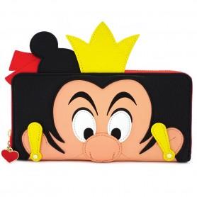 Disney Loungefly - Portefeuille Reine De Coeur - 20x10CM