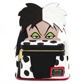 Disney Loungefly - Mini Sac A Dos Cruella D'Enfer - 23x25x11CM