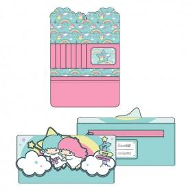 Sanrio Loungefly Portefeuille - Little Twin Stars Rainbow Cloud - 20x10CM