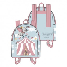 Disney Loungefly - Mini Sac A Dos Dumbo Flying Circus Tent - 23x26x11CM
