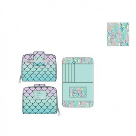 Disney Loungefly - Portefeuille Little Mermaid Ombre Scales -