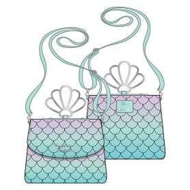Disney Loungefly - Sac A Main Little Mermaid Ombre Scales -  21x25x13CM