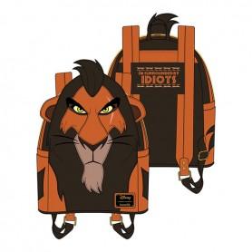 Disney Loungefly - Mini Sac A Dos The Lion King Scar -  23x26x11CM
