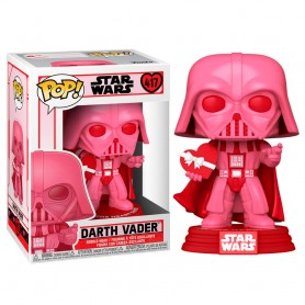 Figurine POP - Star Wars Saint-Valentin - Dark Vador avec cœur