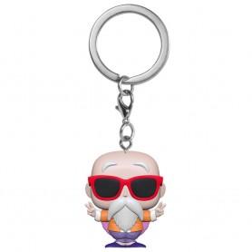 Pocket POP Porte-clé - Dragon Ball Z - Master Roshi signe paix